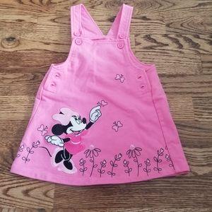 Minnie Overall Dress 18 Months